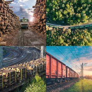 Güterverkehr auf Straße und Schiene. Loglines GmbH